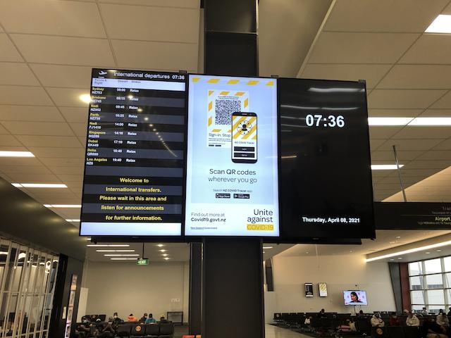 AKL departures